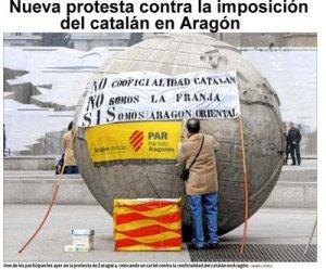 ley de lenguas, Aragón, no hablamos catalán